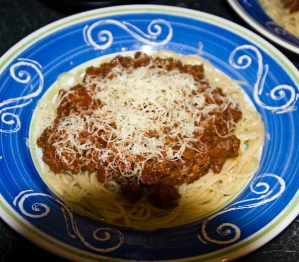 Spaghetti Bollock Naked
